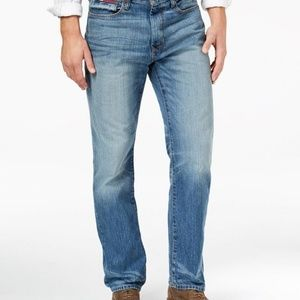 Tommy Hilfiger Men's Relaxed-Fit Parker Jeans 39W